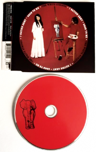 White Stripes (The) ‎- 7 Nation Army (CD Single) (EX/EX)